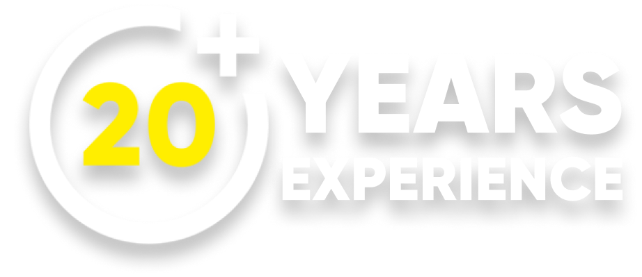 20 years experience